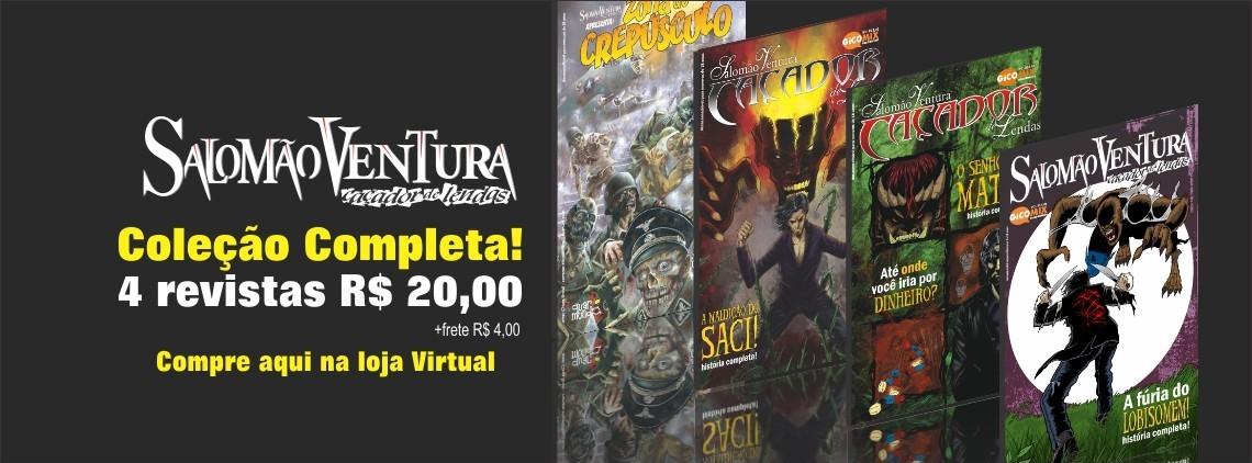 Compre a coleção completa impressa em nossa loja virtual!